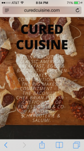 Cured Cuisine stages charcuterie classes, taught by chef Brian Polcyn, throughout the country.