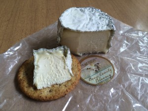 Boone County Bloomy cheese from Traders Point Creamery.