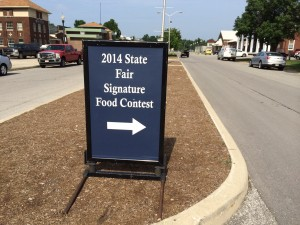 Fair food contest
