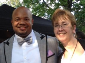 Former Colts linebacker Gary Brackett judged at Zoobilation with me last year.