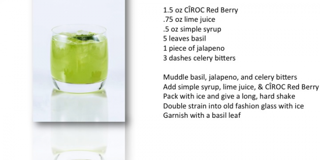 Heat up the holiday with a jalapeño cocktail
