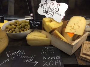 ACS cheese at Goose