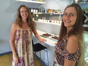 Owner Audrey Barron, left, and head chef Allie McFee.