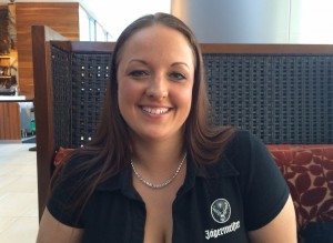 Jessica Taylor of Indy's JW Marriott, is competing in a cocktail competition at the New York Wine and Food Festival.