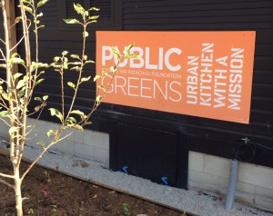 Public Greens, the newest in restaurateur Martha Hoover's Patachou restaurant group, will open in November. at 6th and Cornell streets in broad Ripple.